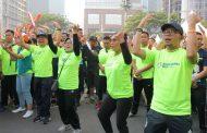 Sambut Asian Games 2018, Menaker Ikuti Acara Fun Run di Kawasan Senayan