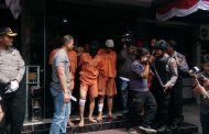 Polres Cimahi Tangkap 3 Pelaku Pencuri Ban dan 2 Pengedar Narkoba