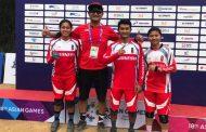 Atlet Indonesia Balap Sepeda Downhill Rebut 2 Emas Asian Games 2018