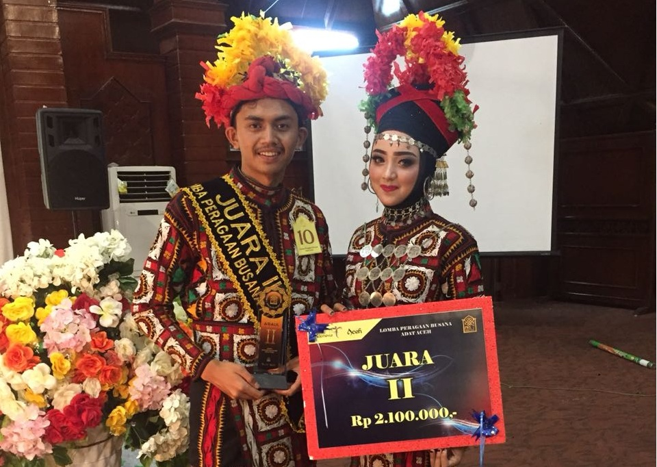 Aceh Tengah Raih Juara Dua Lomba Busana di PKA