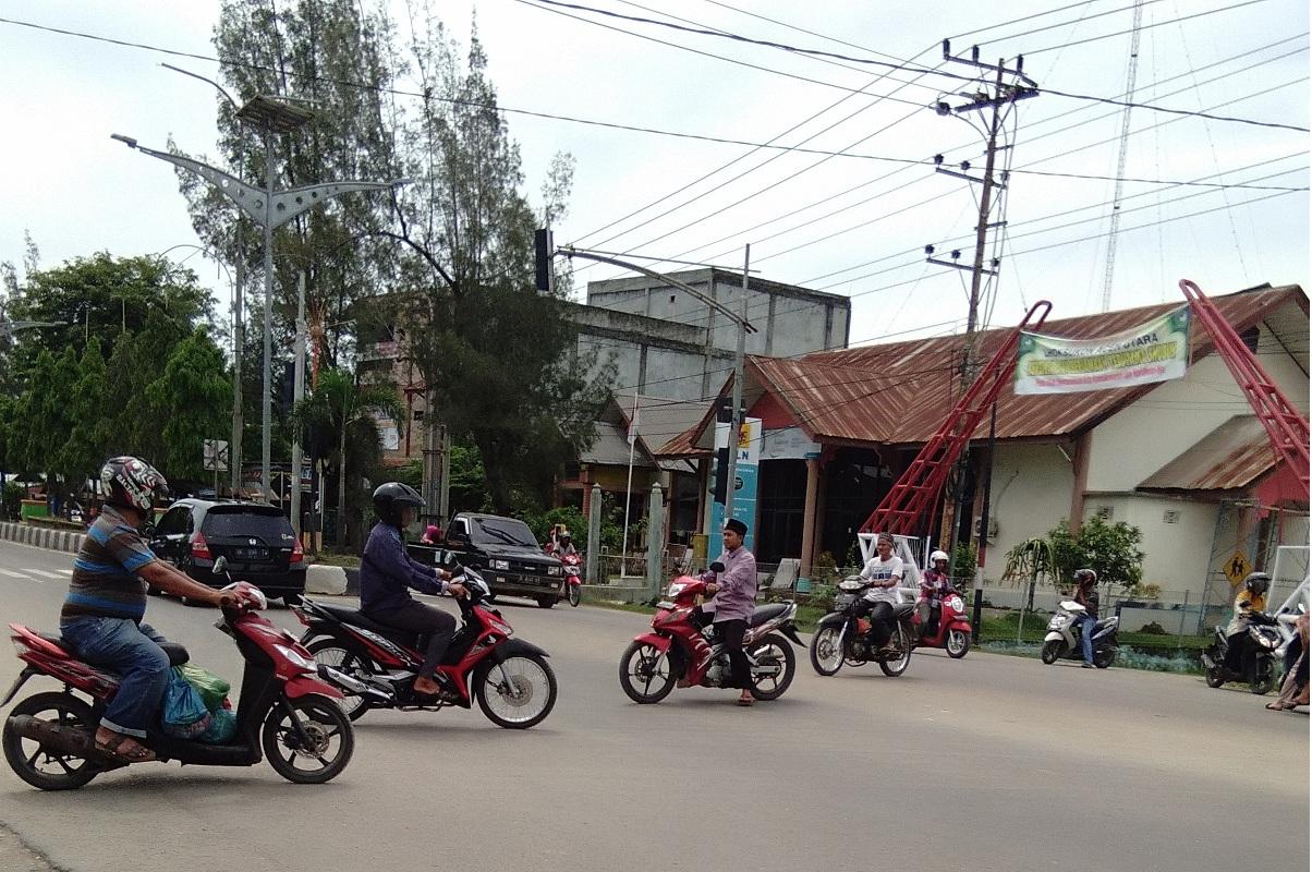 Traffic Light Mati, Lalu Lintas Semrawut
