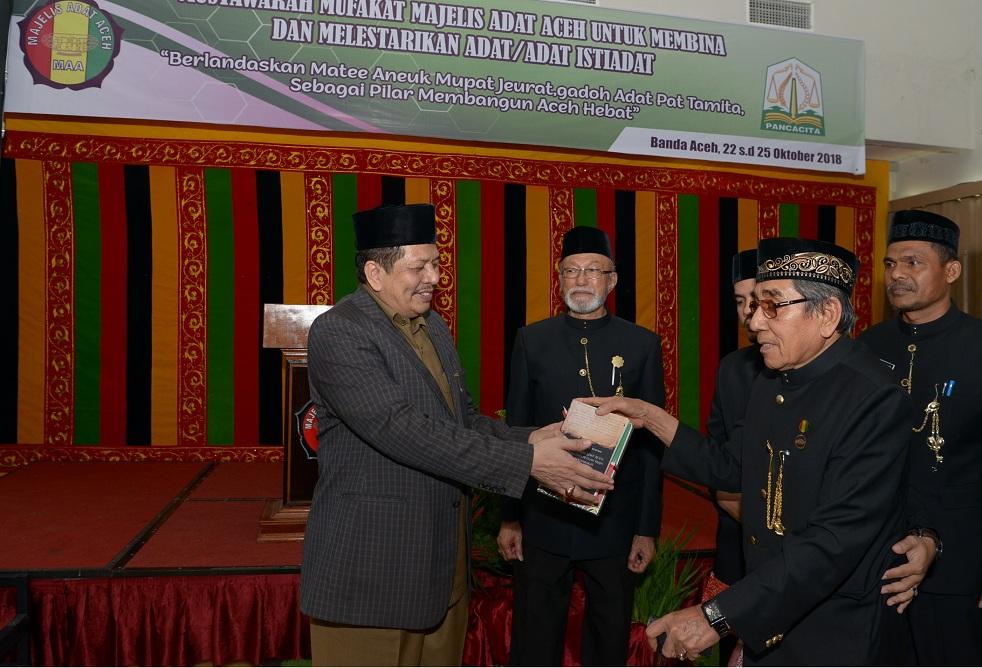 Majelis Adat Diminta Beri Solusi atas Berbagai Fenomena di Aceh