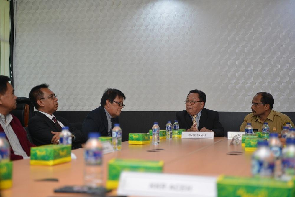 MILF Philipina Belajar Implementasi Perdamaian di Aceh
