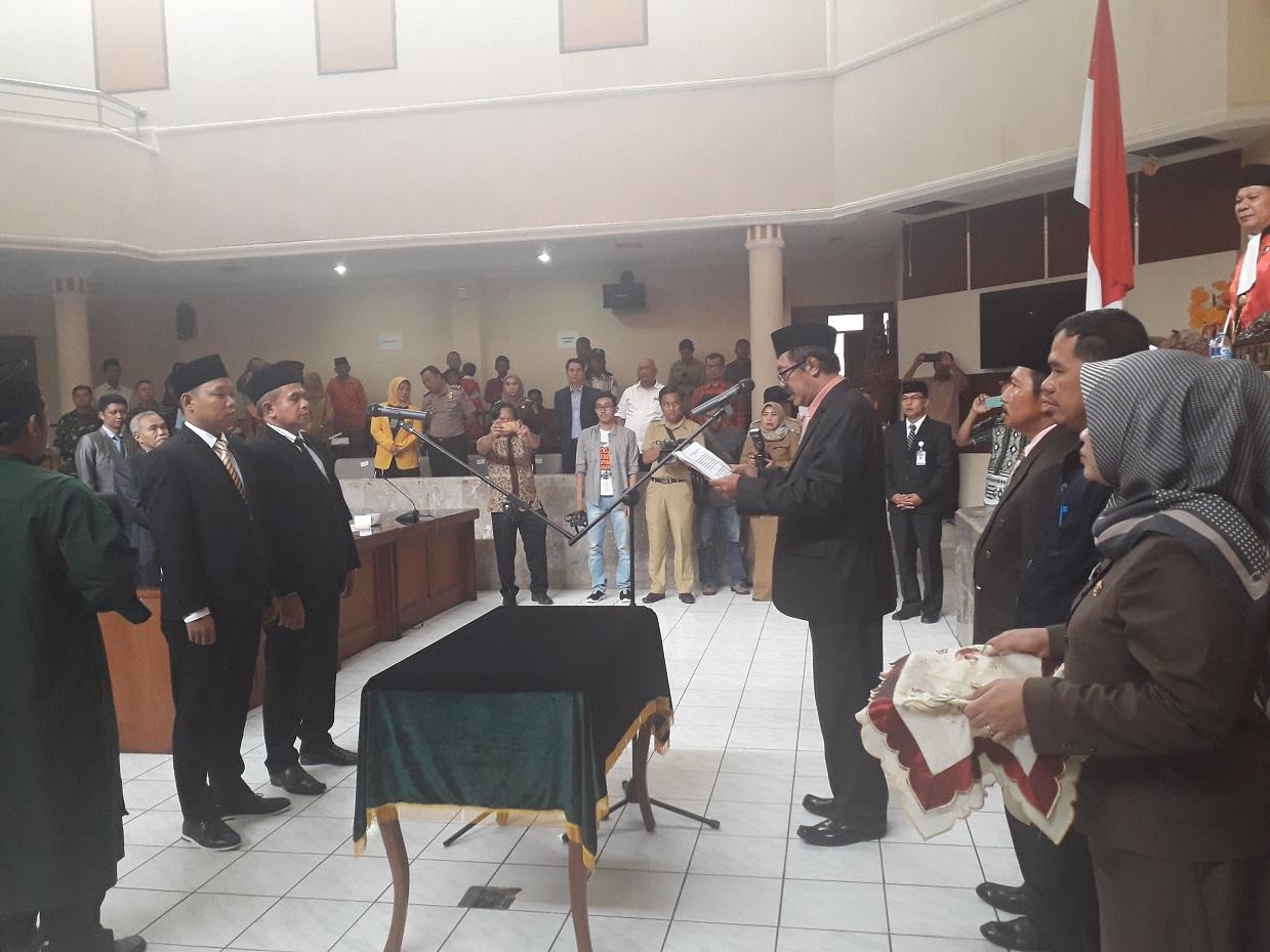 Pimpinan Diganti, Dua Anggota DPRD Subang di PAW