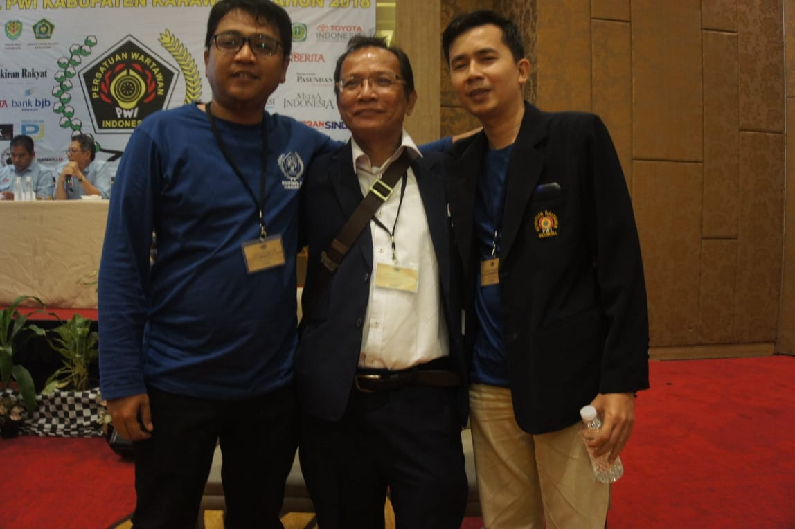 Konferwil PWI Karawang 2018, Jurnalis Pasundan Ekspres Terpilih Jadi Ketua