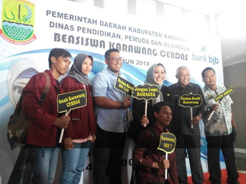 Beasiswa Karawang Cerdas, Pemkab Karawang Gandeng Bank Bjb