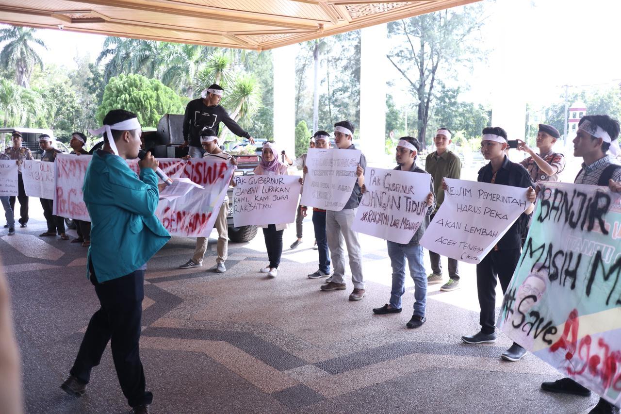Gelar Aksi Demo, IPMA Desak Plt Gubernur Tinjau Langsung Banjir Aceh Tenggara
