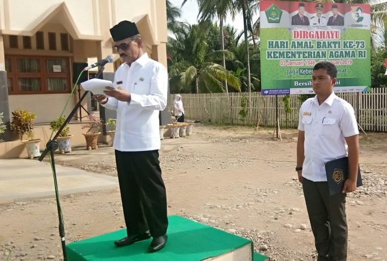 Peringati Hari Amal Bakti ke-73, Ini Pesan Bupati untuk Jajaran Kemenag Aceh Utara