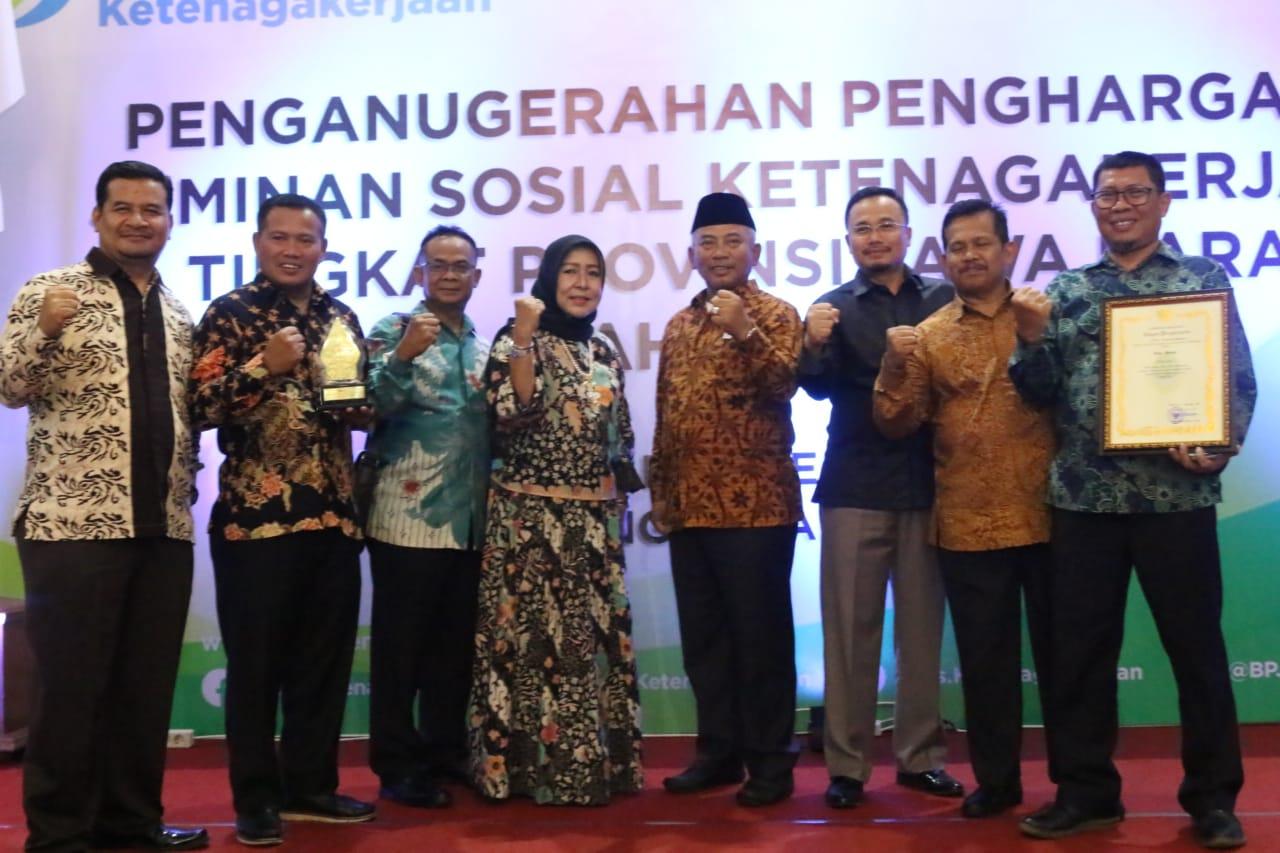 Raih Penghargaan Juara 1 BPJS Ketenagakerjaan, Pemkot Bekasi Ingin Sejahterakan Masyarakat