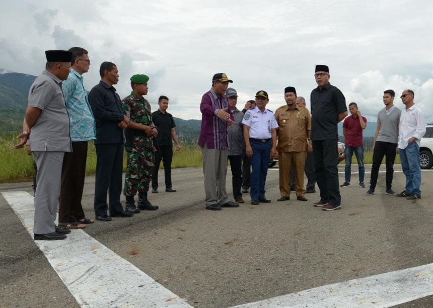 Pemprov Aceh Terus Kembangkan Bandara Patiambang