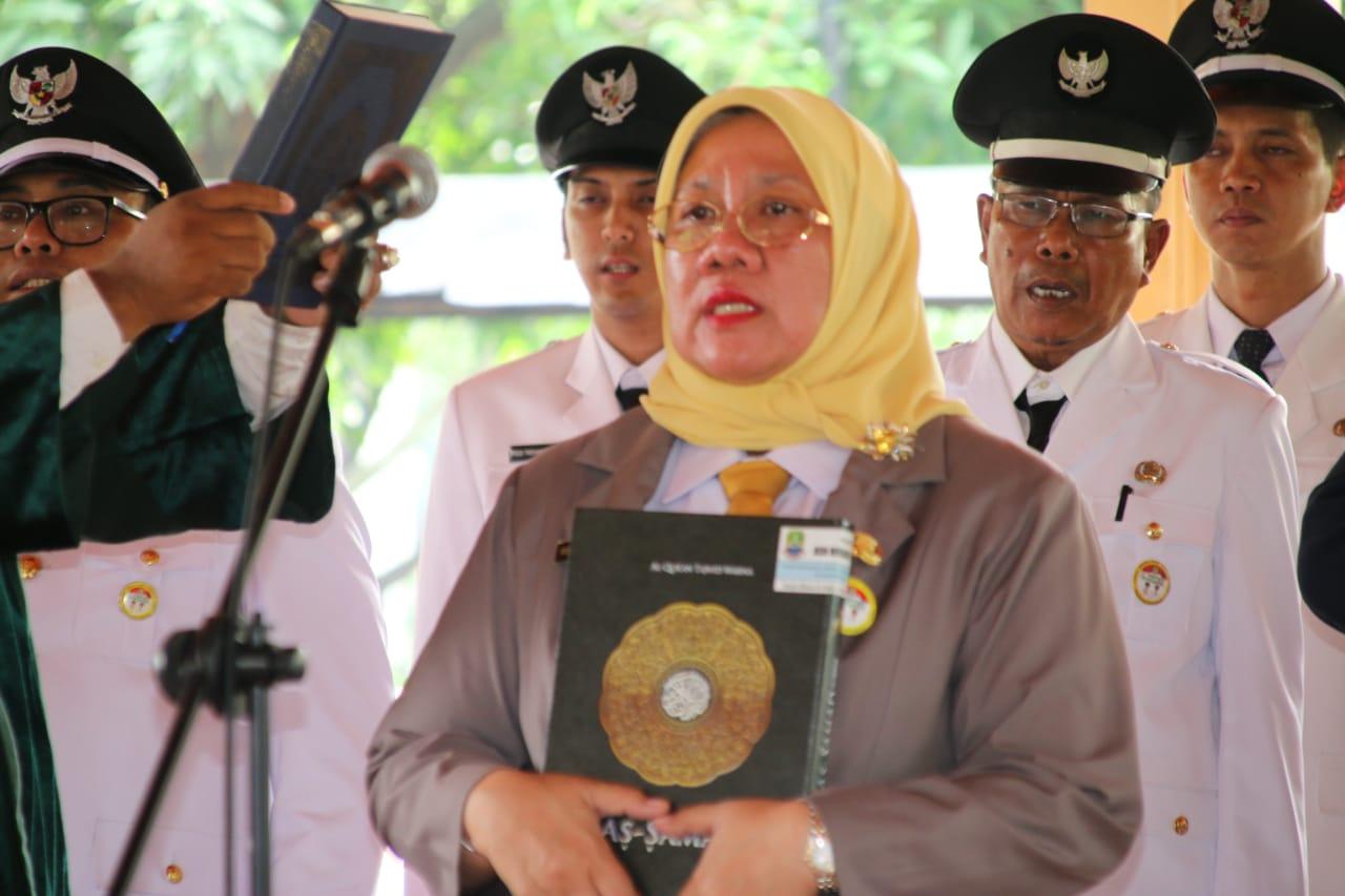Walikota Resmi Lantik Reny Jabat Sekda dan Esselon II,II dan IV Kota Bekasi