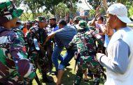 Gabungan 3 Satuan TNI di Aceh Menggelar Simulasi Pengamanan Pemilu 2019
