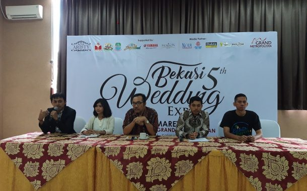 Aristy Gelar Bekasi Wedding Expo Kelima di Kota Bekasi