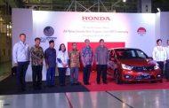 Ulang Tahun ke 20, PT Honda Prospect Motor Ekspor Perdana All New Brio
