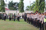 Amankan Pemilu, Polres Aceh Utara Gelar Apel Pasukan Operasi Mantap Brata 2019