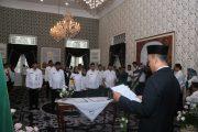 Sekda Purwakarta dan 12 Pejabat Eseleon II Hasil Lelang Jabatan Dilantik