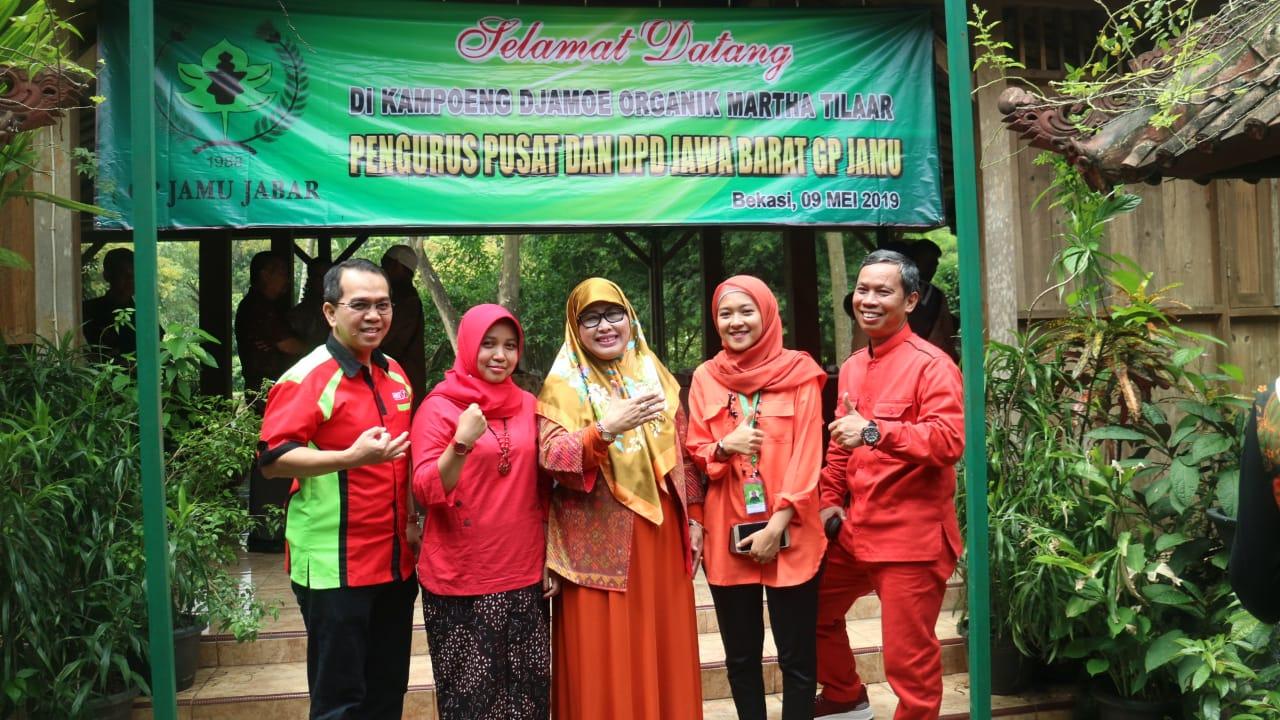 Pengurus GP Jamu Komitmen Kembangkan Jamu di Jawa Barat