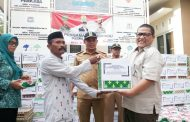 Kawasan Industri Indotaisei Ramadhan Berbagi Kebahagiaan dengan Warga Desa Kalihurip