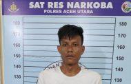 Diduga Jual Narkoba, Pria Ini Ditangkap Satresnarkoba Polres Aceh Utara