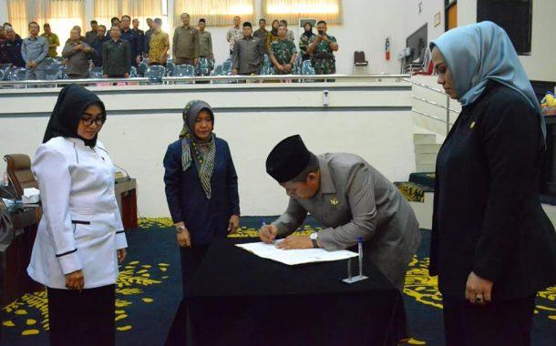 DPRD Setujui Raperda Pertanggungjawaban Pelaksanaan APBD Tahun Anggaran 2018