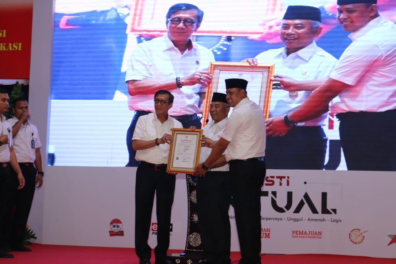 Menkumham Apresiasi Walikota Atas Pembangunan Kantor Imigrasi Kelas II Non TPI Kota Bekasi