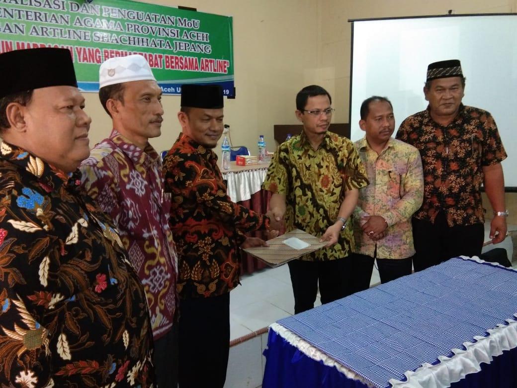 Kemenag Aceh Kerjasama dengan Jepang Dalam Bidang Pendidikan