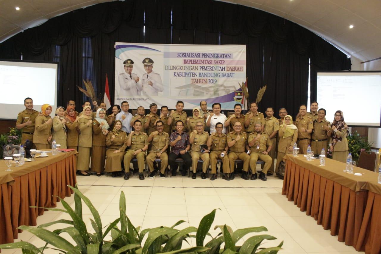 Pemkab Bandung Barat Optimis Mampu Meningkatkan Penilaian SAKIP