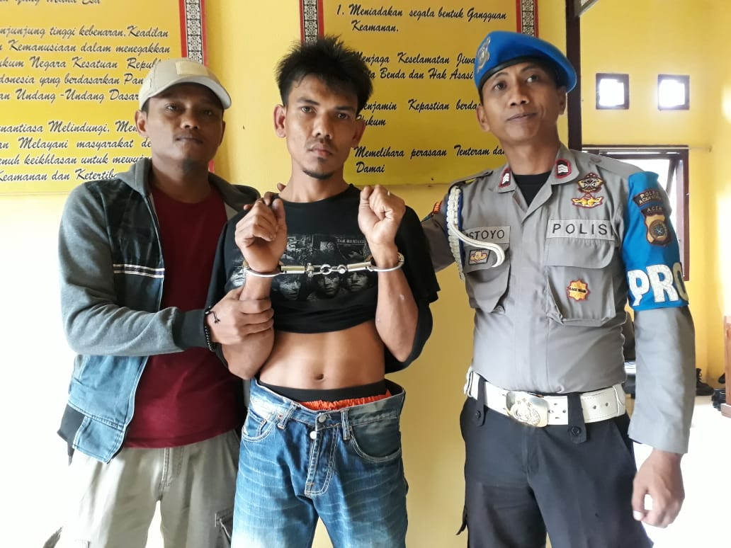 DPO Kasus Narkoba Diringkus Polsek Langkahan