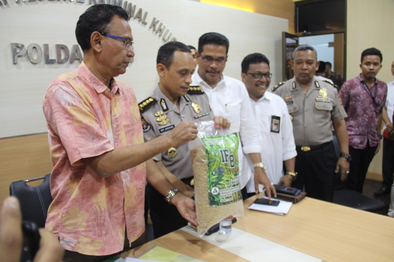 Direktur PT Bumides Nisami Indonesia Jadi Tersangka Kasus Benih Padi IF8
