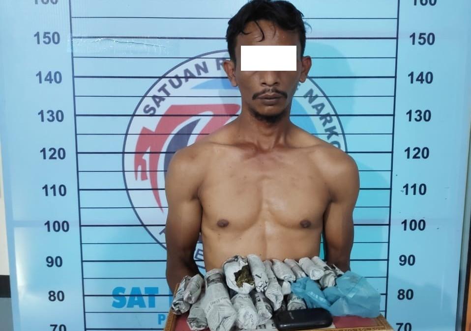 Polisi Sita 19 Paket Sabu dari Seseorang Yang Diduga Pengedar