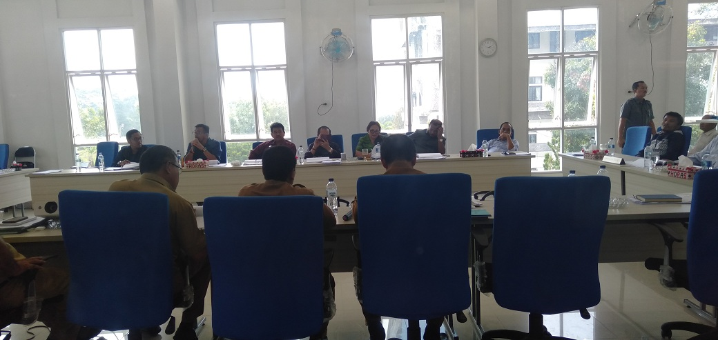 DPRD Toba Samosir Pertanyakan Realisasi Anggaran Tahun 2018