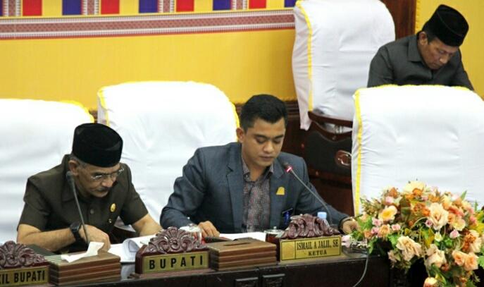 Bupati Sampaikan KUPA PPAS-P APBK Aceh Utara 2019