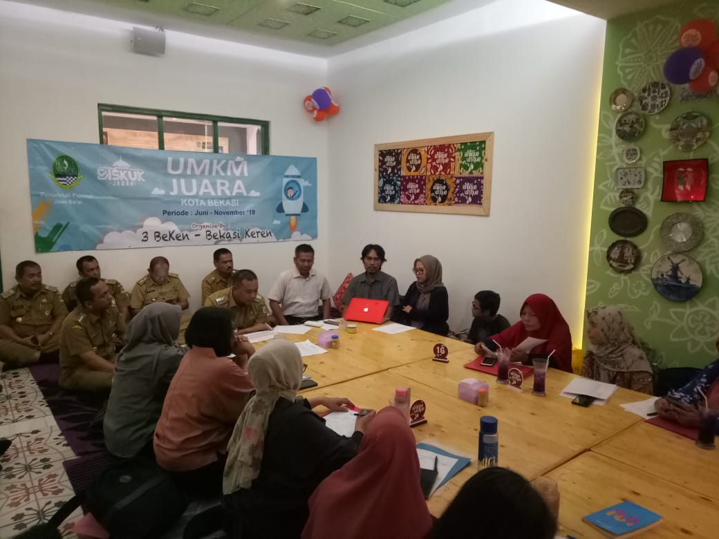 UMKM Bekasi Timur Diharapkan Menjadi Juara Tingkat Provinsi Jawa Barat