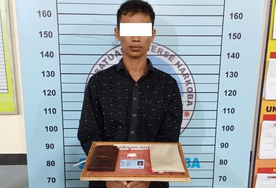 Polres Aceh Utara Ringkus Pemuda Pemilik Sabu