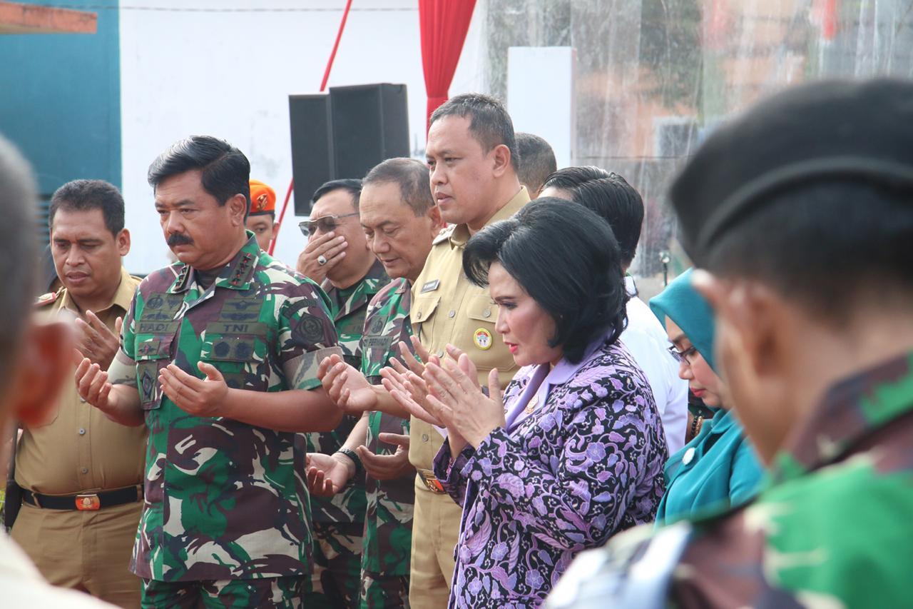 Peduli Pendidikan Anak Usia Dini, TNI Dirikan PAUD Percontohan di Kota Bekasi