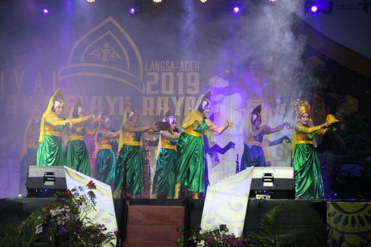 Penggiat Seni Budaya Aceh Gelar Festival Rentak Melayu Raya 2019