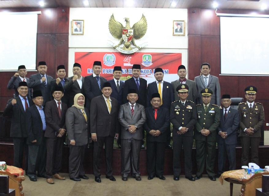 DPRD Kota Bekasi Paripurna HUT Kemerdekaan RI ke 74