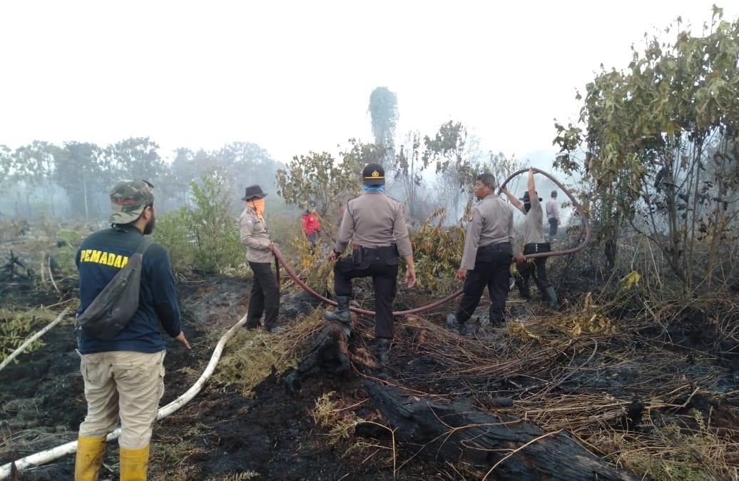 Polda Kalbar Buru Pelaku Perorangan Maupun Korporasi Pembakaran Hutan dan Lahan