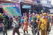 Ribuan Pelajar Ikuti Karnaval di Aceh Timur