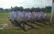 Lapangan Becek Tidak Surutkan Semangat Peringati HUT ke 74 Kemerdekaan RI di Matangkuli
