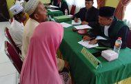 Ratusan Pasutri Dari Lima Kecamatan di Kabupaten Aceh Ikut Isbat Nikah Gratis