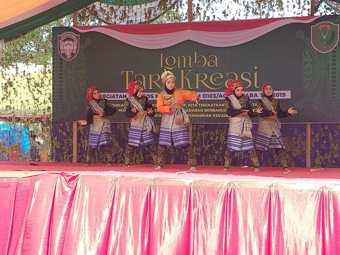 Pelajar SMA/SMK se-Aceh Utara dan Lhokseumawe Ikuti Lomba Tari Kreatif