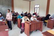 130 Calon Mahasiswa Baru STAI Nurul Arafah Panton Labu Ikuti Tes Seleksi