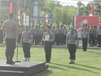 Anggota Polres Kapuas Hulu Diberhentikan Secara Tidak Hormat