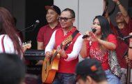Kemnaker Gelar Pesta Rakyat Tripartit Meriahkan HUT RI ke 74