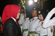 Ini Pesan Bupati Anne Untuk Pasukan Pengibar Bendera HUT RI Ke 74
