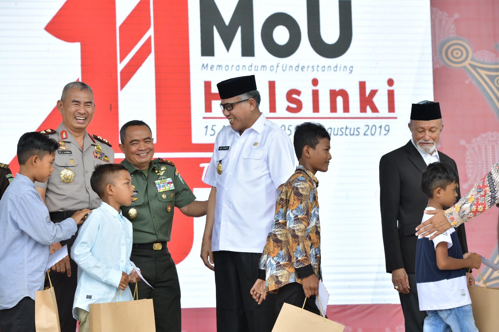 Plt Gubernur : 14 Tahun Perdamaian Jadi Refleksi Perjuangan Aceh