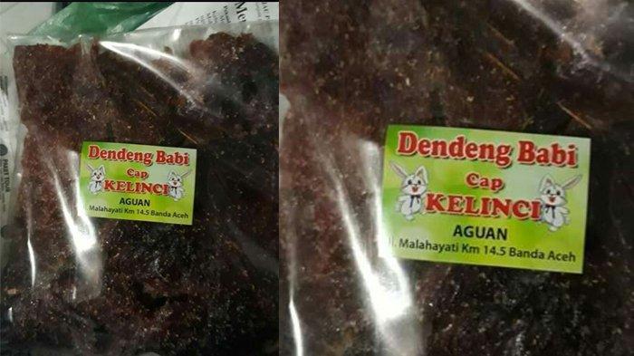 Pemerintah Aceh Minta Polisi Usut Asal Dendeng Babi Cap Kelinci