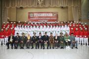 35 Paskibra dan 50 TNI Kodim 0507 Kota Bekasi Dikukuhkan
