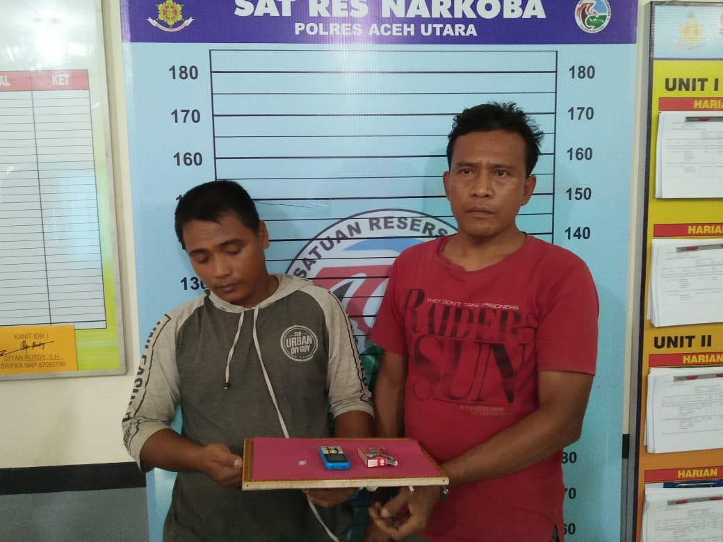 Polres Aceh Utara Tangkap Tiga Pelaku Tindak Pidana Narkoba